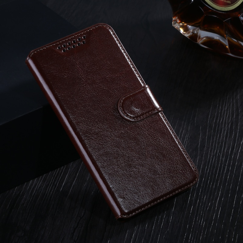 Роскошный деловой кожаный чехол-подставка для Lenovo S860, откидной Чехол с отделением для карт, чехол для lenovo s860, чехол для мобильного телефона, ...