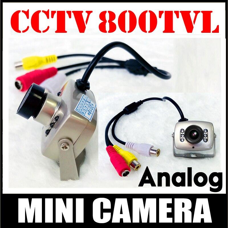 Super pequeno tem visão noturna 700tvl cctv hd mini câmera av áudio mic metal monitoramento produtos micro vidicon vigilância