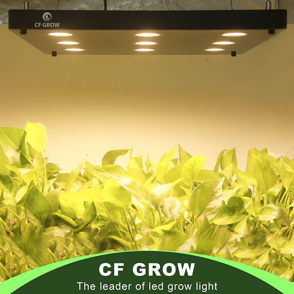 Cf crescer ultra-fino led cresce a luz 360 w 540 w 810 w espectro completo crescente painel para plantas hidropônicas toda a iluminação de crescimento de fase
