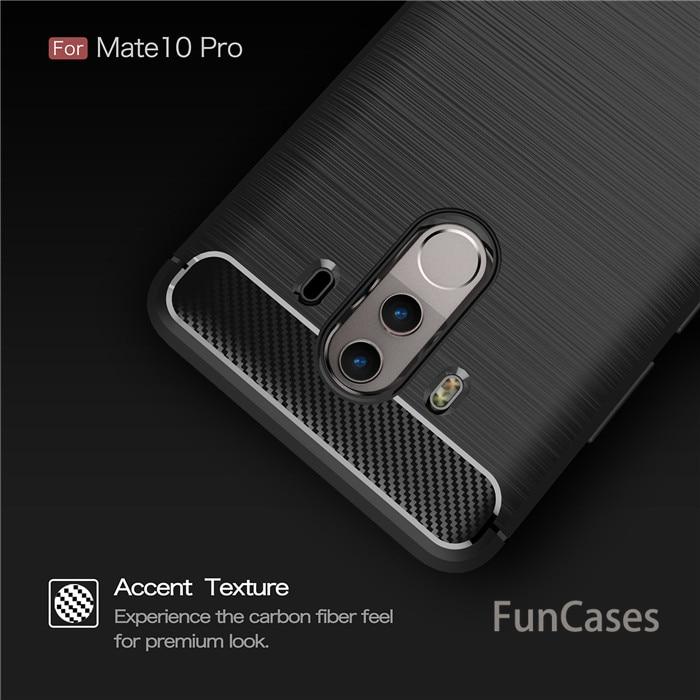 Para Huawei Nova 2i maimang 6 Mate 10 Lite funda de teléfono de silicona suave TPU negocios de carbono fundas de teléfono para huawei Mate 9 10 pro