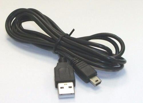 2 uds Cable cargador de carga de energía de datos USB negro...