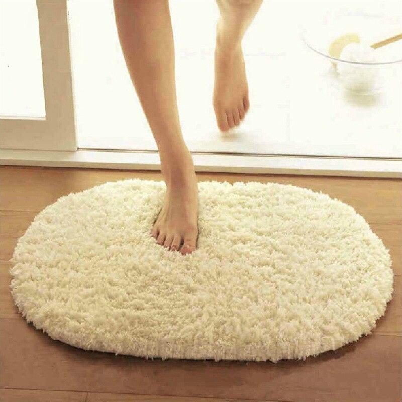 40*60cm Bad Teppiche Slip-Beständig Matten Korallen Fleece Fußmatte Teppich Boden Wasser Absorption Matten коврик в ванную