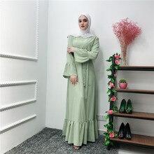 2019 Black Diamonds Muslim Abaya Dubai Kaftan Women Bodycon Beading Lace Maxi Hijab Muslim Dress Turkish Indian Islamic Clothing