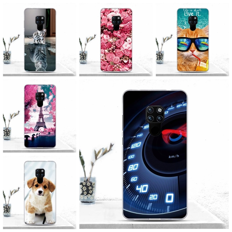 Soft TPU Silicone Case Cover For Huawei Mate 20 Case Fundas Back Cover Bumper For Huawei Mate 20 Coq