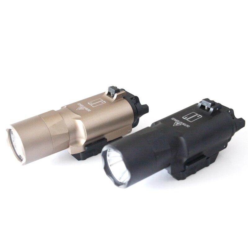 Luz táctica X300U Ultra LED para caza envío gratis