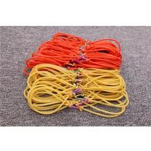 6pcs wholesale fishing slingshot rubber band latex leather outdoor hunting slingshot rubber band 2020