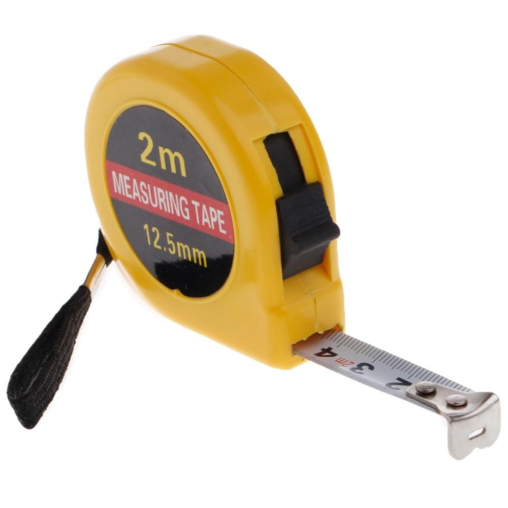 2m mini bolso retrátil fita medida régua ferramenta construtores casa diy garagem regra fita medidas ferramentas