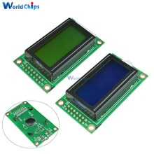 Blue/Yellow 0802 LCD Module 8 x 2 Character Display Screen 0802LCD Module 3.3V / 5V LED LCD Backlight for arduino Diy Kit