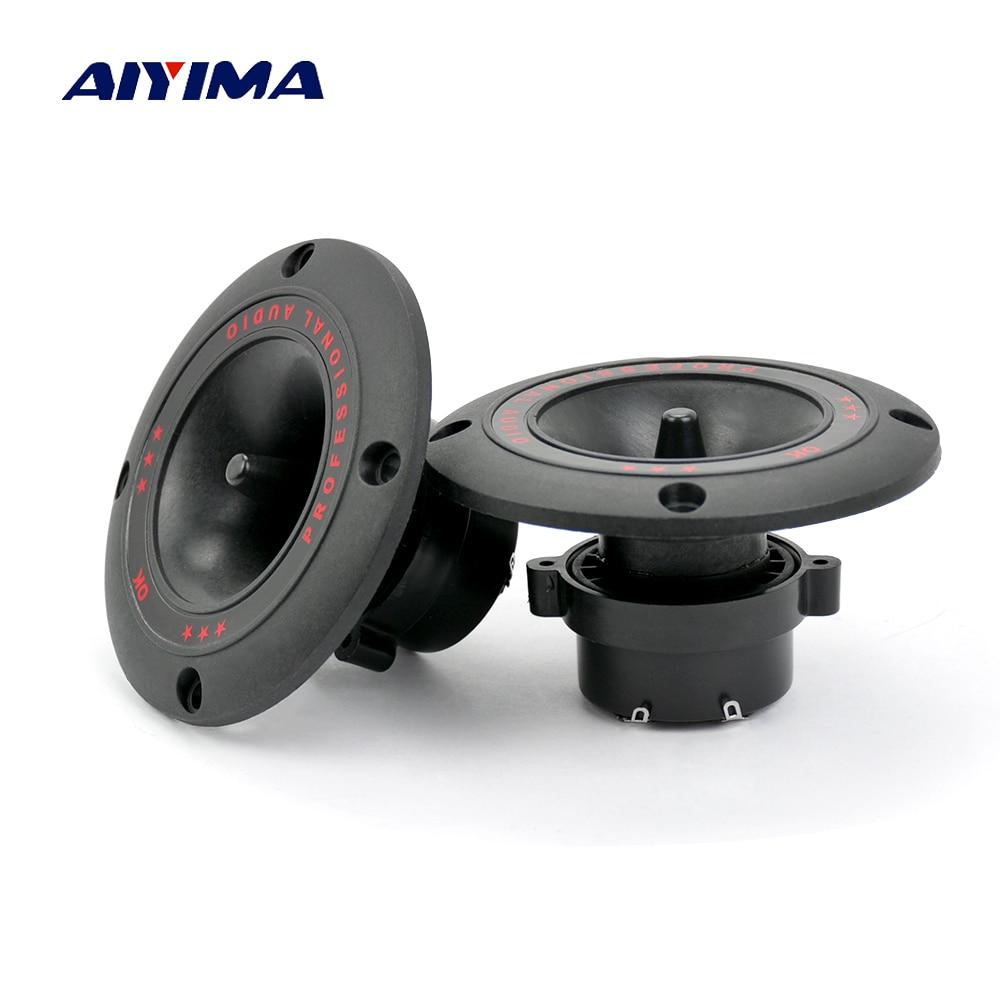 AIYIMA 2 шт. 4 дюймовые аудио портативные колонки 50 Вт спиральные твитеры громкоговоритель сделай сам для домашнего кинотеатра