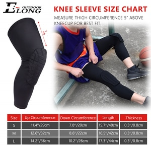 1 Pair Long Knee Sleeve Pad Braces Protector for Volleyball Riding Climbing All Contact Sports Kids Youth Adult Free Shipping