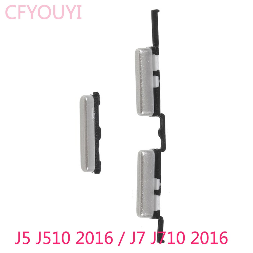 Новый боковой набор кнопок питания и громкости для Samsung Galaxy J5 (2016) J510/J7 (2016) J710