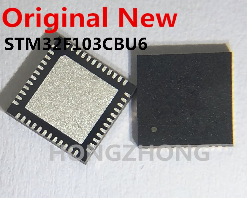 1 unids/lote STM32F103CBU6 STM32F103CB 32F103CB QFN48 nuevo