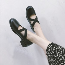 Sweet Black Womens Pumps Harajuku Low Heel Lolita  Bottom Heels Cute Stuff for Girls Female Princess Shoes Womens Shoes Black