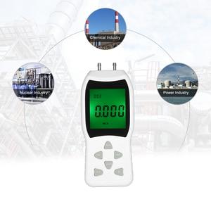 High Differential Air Pressure Gauges Digital Dual-port Manometer Tester 12 Units of Measurement/20.68kPa/2.999psi