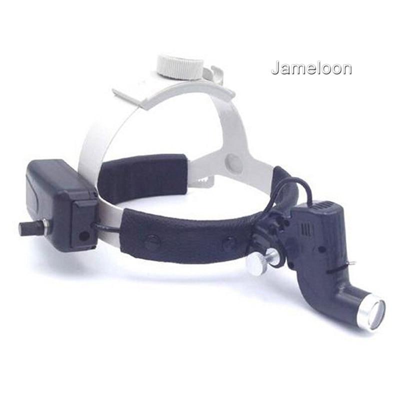 Portable Adjustable Brightness Dentist Medical Headlight Clinic Loupe Surgical Operation Lamp Led Light Dental Surgery Headlamp