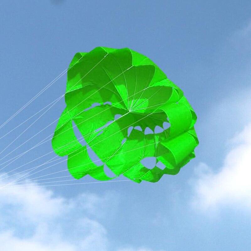 Envío Gratis 2,7 m de potencia doble línea parafólete paracaídas Arco Iris deportes playa cometa para principiantes wei cometas fábrica