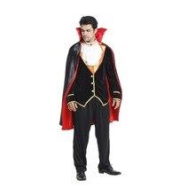 Fantassia adulto hommes Batman Vampire comte Cosplay Halloween chevalier costume pourim carnaval mascarade scène jouer gentleman robe