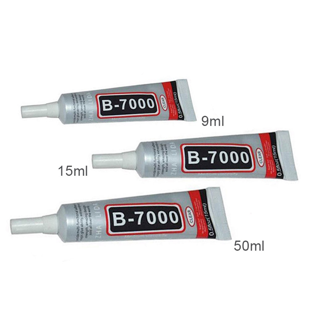 1/4/10 Uds. Pegamento adhesivo B-7000 Industrial para MARCO DE TELÉFONO joyería de parachoques #3