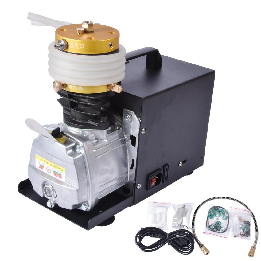 1 قطعة/الوحدة 30MPa الهواء ضاغط 220 V 50Hz الضغط العالي مضخة الهواء الكهربائية اسطوانة 2800R/دقيقة ارتفاع ضغط الهواء مضخة