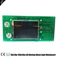 Panneau daffichage de tête mobile de lavage de LED 36x10 36x12 36x10W 36x12W RGBW 4in1 panneau de programme daffichage