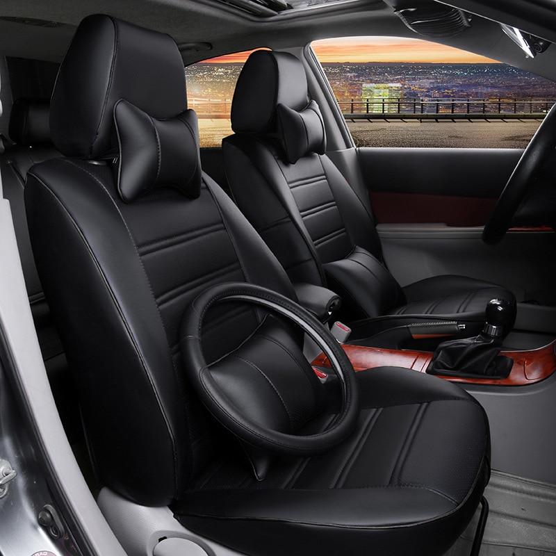 A su gusto, accesorios para automóviles, Funda personalizada de cuero para asiento de coche HONDA Jazz FIT crosstour EVERUS CRIDER VEZEL, gran oferta