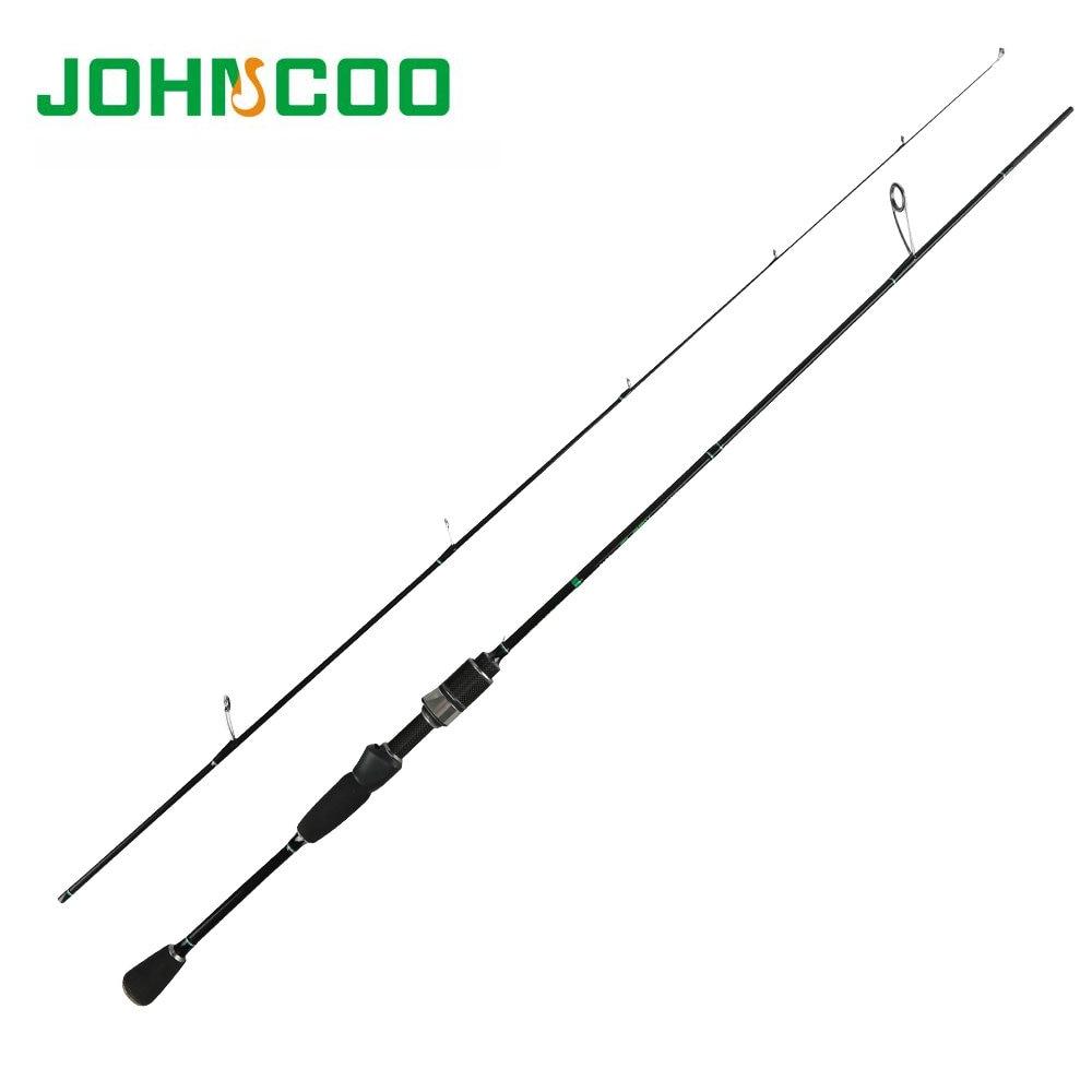Johncoo Glory UL Удочка 0,6-6 г тест быстрое действие 1,68 м спиннинговая удочка для светильник удочка для джигггинга форель углеродная Удочка 2,1 м L 2-10 г
