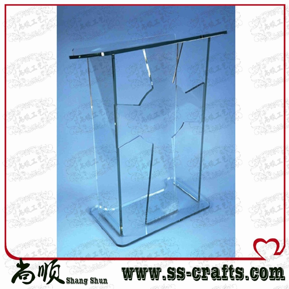 Acrylic Podium / Acrylic Rostrum / Acrylic Lectern plexiglass