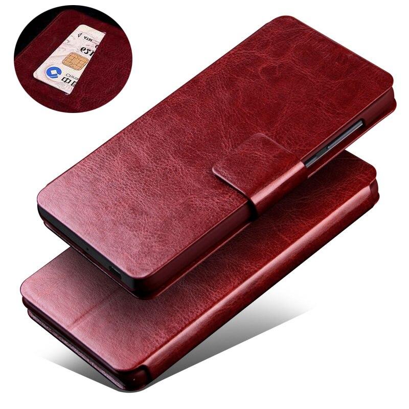K6000 Oukitel Pro Caso 5.5 Capa Carteira Luxo PU LEATHER Telefone caso Para K6000 Oukitel Pro K6000Pro K 6000 Pro Virar Para Trás cobrir