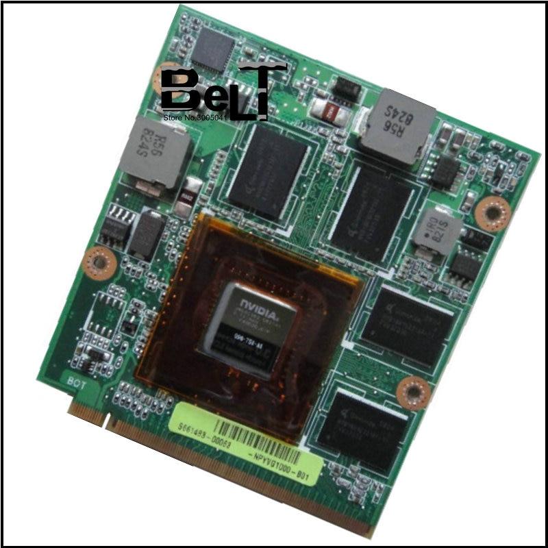 الأصلي 9700MGT 9700M GT G96-750-A1 DDR3 512MB بطاقة الفيديو ل ASUS M50 M50V G50V G50VT G71V شحن مجاني