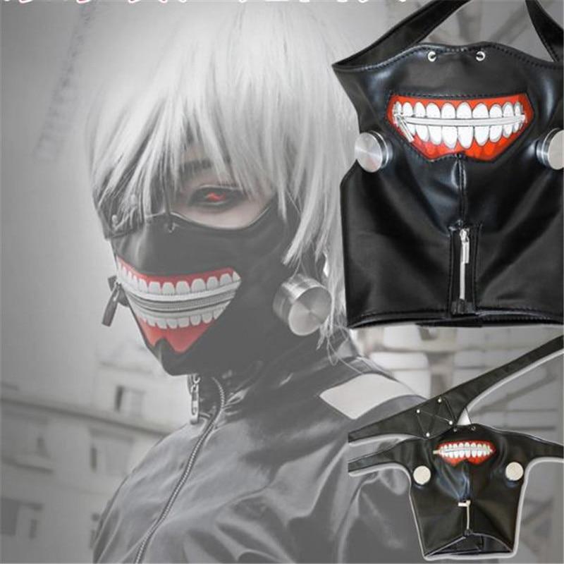 Máscara de demonio Cosplay de Tokio, envío gratis, máscara de ojos Can zipper Jin Mu, investigación para máscara de animación