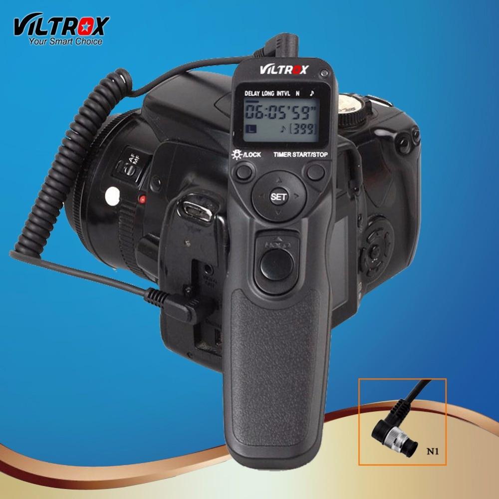 Viltrox MC-N1 ЖК-дисплей Таймер спуска затвора дистанционное управление провод для камеры Nikon D850 D5 D500 D810A D810 D800 D800E D700D D300 DSLR