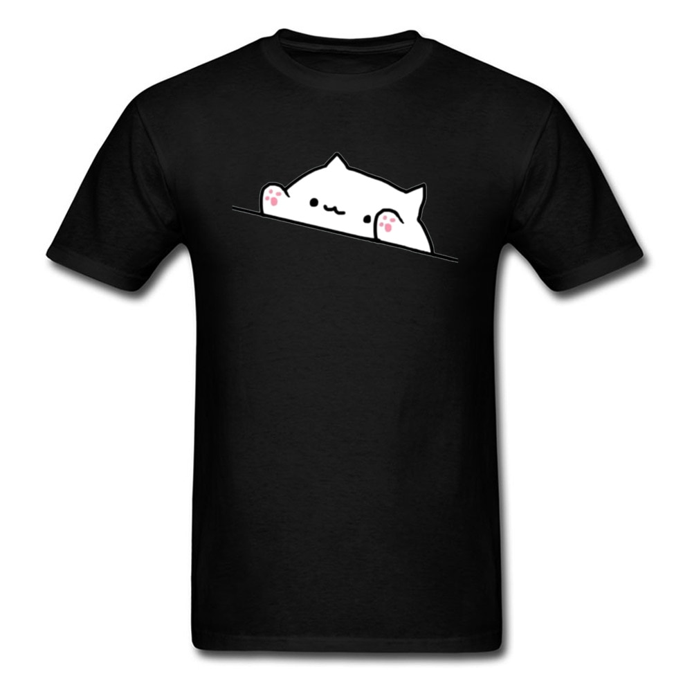 Bongo gato jogo muisc hip hop t camisas tambor gato teclado eletrônico rock men tshirt kawaii gráfico engraçado design novo teeshirt