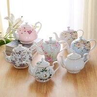 Continental Coffee Maker Bone China English Afternoon Tea Tea Set Household Large Capacity Filter Ceramics