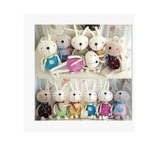 1 pièces beaucoup de couleur sourire lapin mignon et joli jouets en peluche décorations de mariage cadeau danniversaire