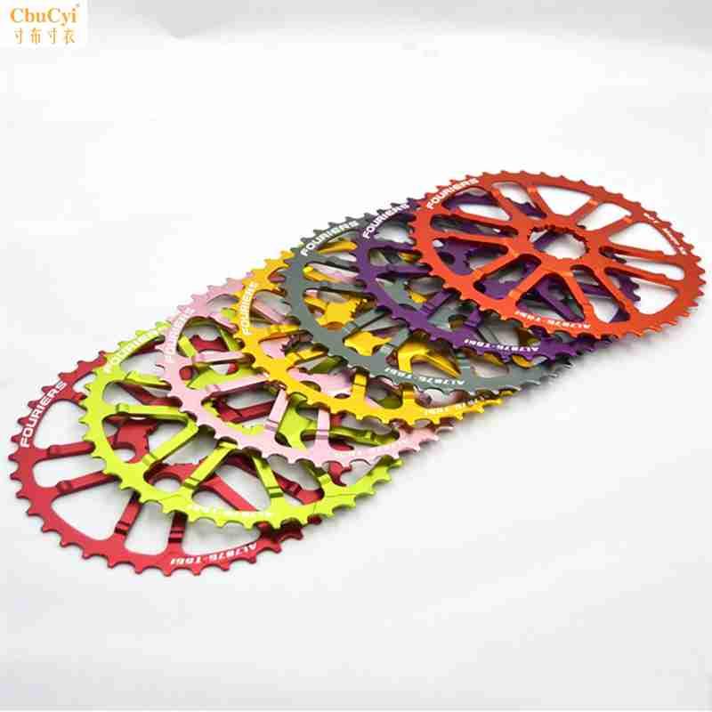 Fouriers CNC Kette-ringss Bike fahrrad Kettenrad 40T Mit 16T Kompatibel Für 10S shimano X T R Deore