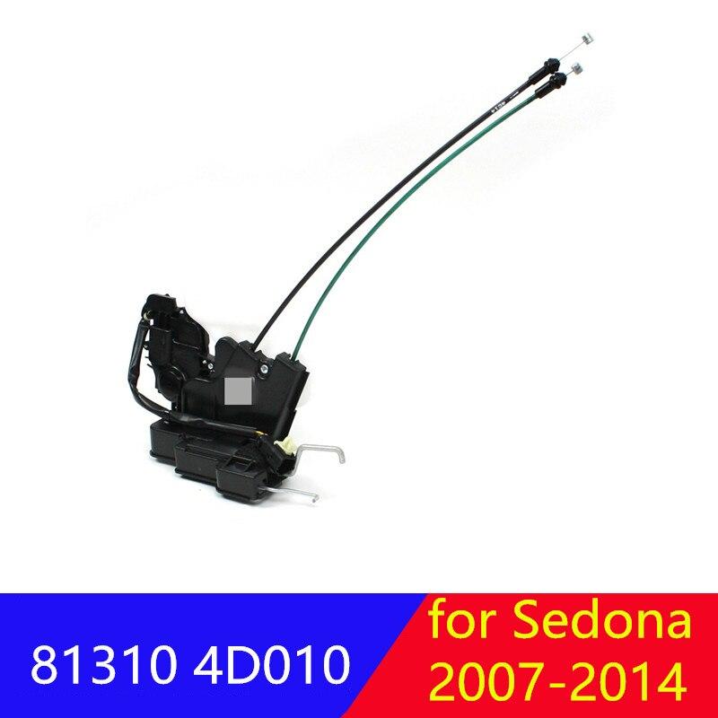 Actuador de bloqueo de puerta frontal izquierda LH para kia Entourage Sedona 2006-2014 813104D010 81310 4D010