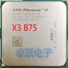 AMD Phenom II X3 B75 75 3.0 GHz triple-core CPU Processor Socket AM3 free shipping