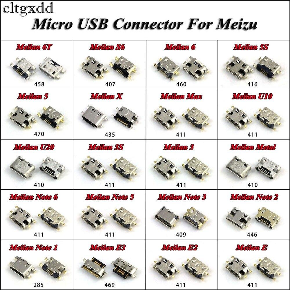 cltgxdd For Meizu Note M2 M3 M3S M5 M6 Micro USB Charging Socket Dock Connector Plug Jack For Meilan 6T S6 6 5S 5 X Max U10 U20 недорого