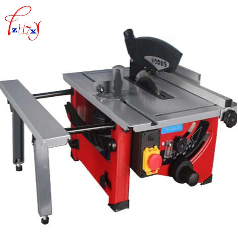 220V JF72102 Sliding Woodworking Table Saw 210 mm Wooden DIY Electric Saw, Circular Angle Adjusting
