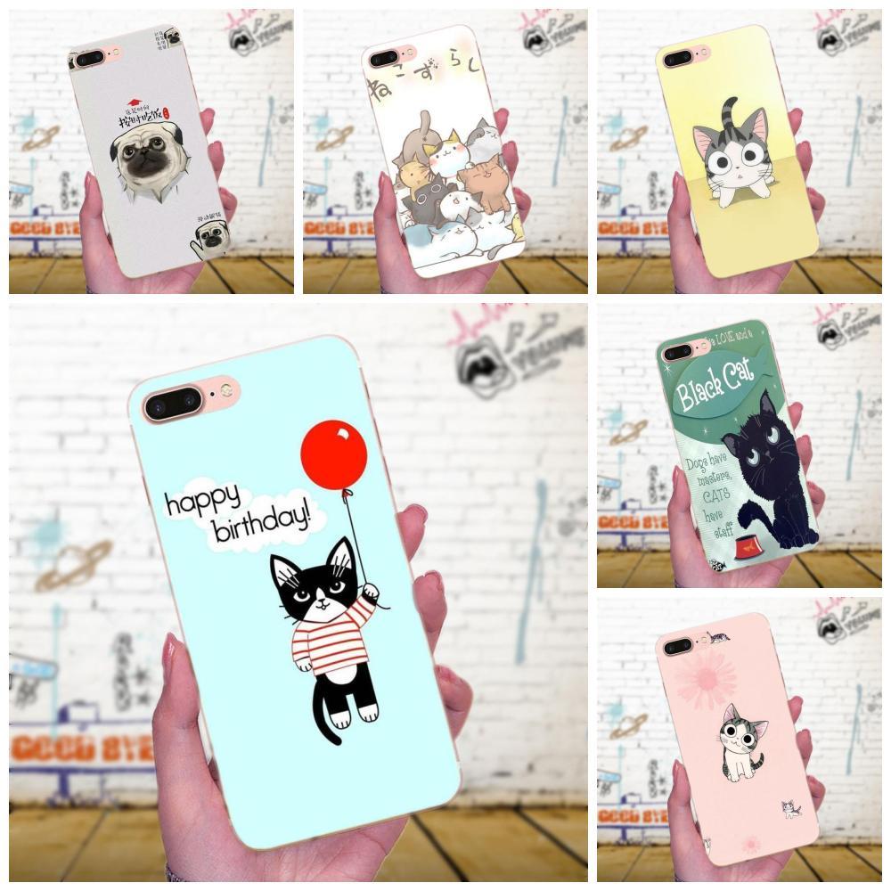 Para Galaxy J1 J2 J3 J330 J4 J5 J6 J7 J730 J8 2015, 2016, 2017, 2018 Mini Pro Coque de 3d fortuna gato lindo Animal