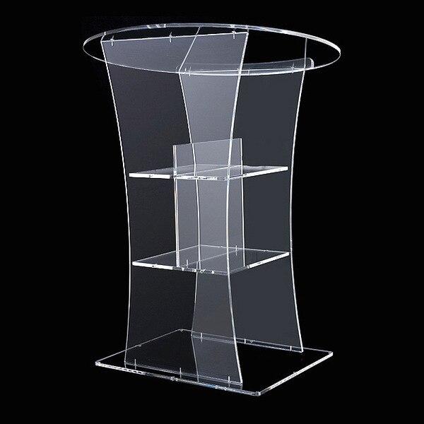 Envío gratis/venta caliente acrílico lectern/. Plaqueta de podio acrílico/lectero acrílico. Plexiglás de podio Acrílico