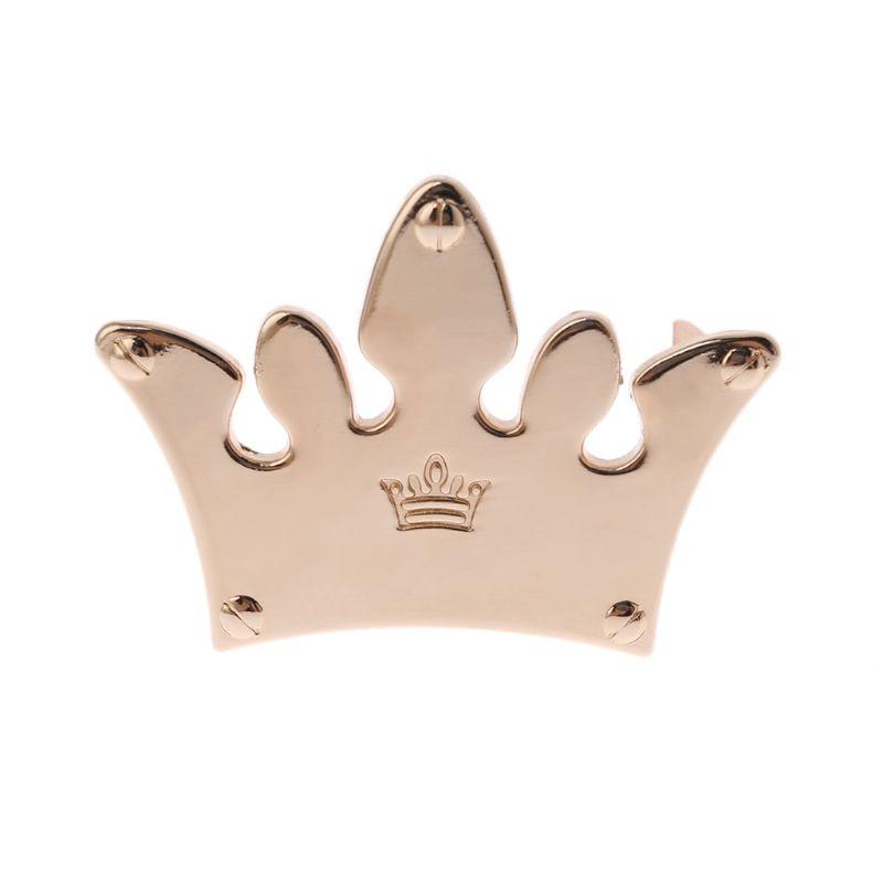 Bolsa de Metal Crown decorada para manualidades DIY, bolsos de hombro, accesorios de Hardware