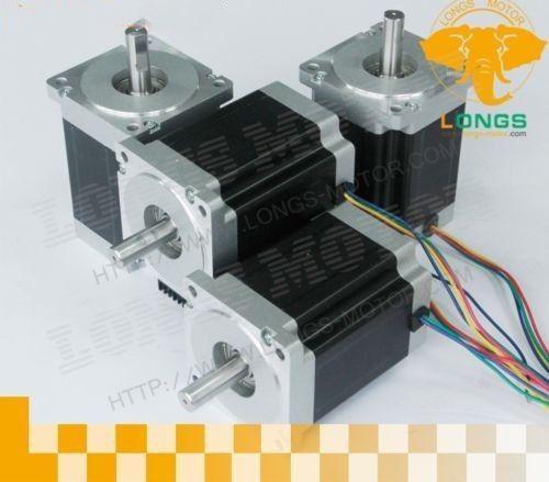 ¡Anhela MOTOR! 4 Uds NEMA34 Motor paso a paso 34HS5435C-37B2 1600OZ-IN 3.5A 151mm de 4 2 Fase de Kit CNC Robot de plástico de la espuma de Bipolar