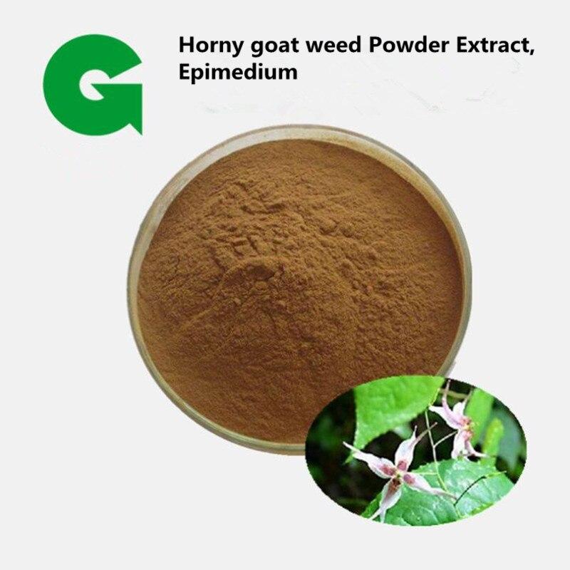 Pure Mans Tonic Horny goat weed Powder 501 Extract,Epimedium brevicornu with 70% Icariin Powder for anti-osteoporosi