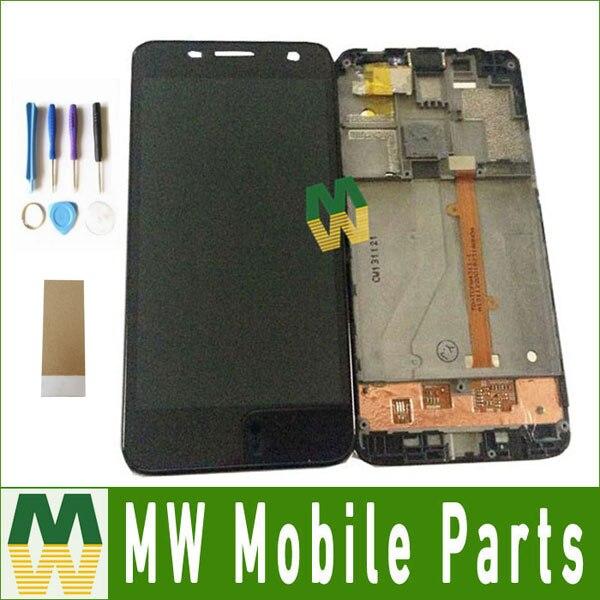 1 ud./lote para Alcatel One Touch Idol mini 6012 OT6012 6012A 6012D 6012W 6012X pantalla táctil LCD con marco con herramientas