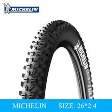 MICHELIN Wilde Rock Versterkte Mountain Fiets Band Band 26*2.4 Hoge Kwaliteit Rubber Fiets Opvouwbaar Lekbescherming Tire