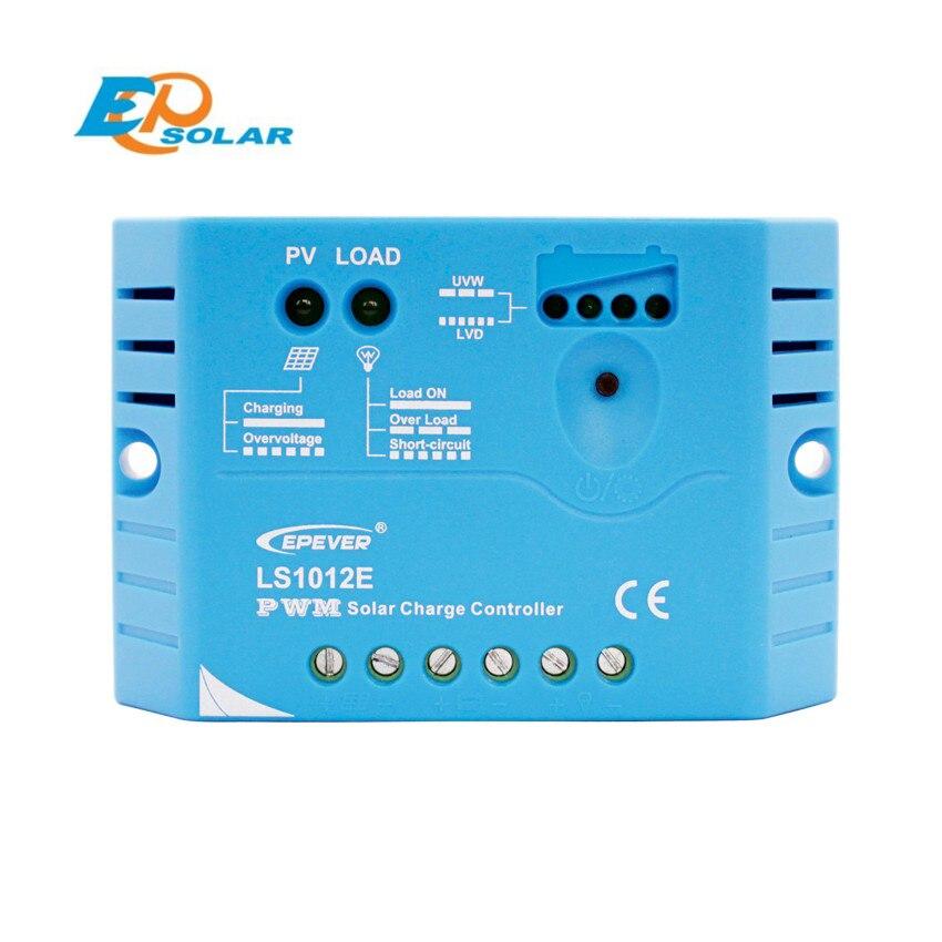EPSOLAR LS1012E 10A 12V EP epever PWM LandStar Solar reguladores de regulador de carga