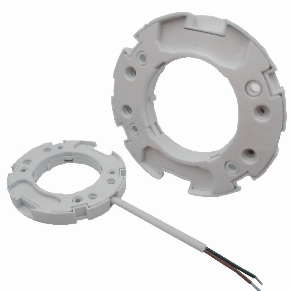 Держатель для ламп GX53, гнездо для светильников GX53, gx 53, держатель для светодиодных ламп GX53, адаптер, белая подгонка поверхности корпуса, держ...