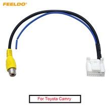 FEELDO adaptateur de câble pour Toyota Camry 7e Navigation   Pour Parking de voiture, caméra arrière inversée, prise vidéo, # AM2593, 20 pièces