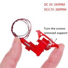 1 Pcs Dc 3V 3.7V 245 Rpm 300 Rpm Micro Wormwiel Motor Mini Coreless Dc Motor Diy speelgoed
